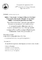 Chants Saint-Léon12 septembre 2021