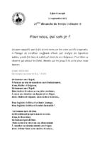 Chants Saint-Joseph12 septembre 2021