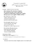 Chants Saint-Léon10 octobre 2021