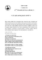 Chants Saint-Joseph17 octobre 2021